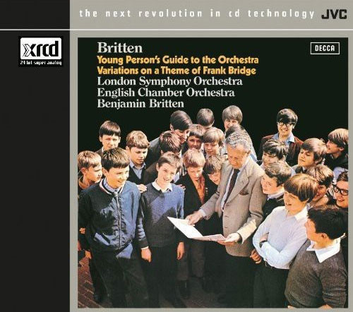 Britten The Young Person's Guide To The Orchestra XRCD24