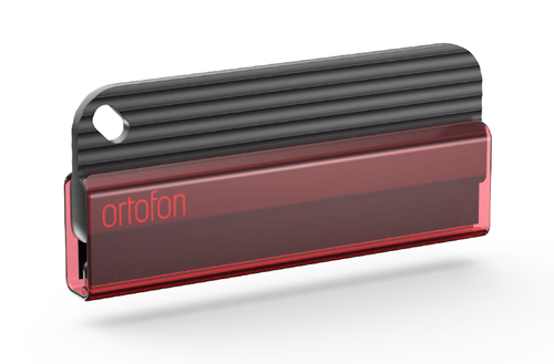 Ortofon Anti-Static Record Care Brush with Red Sheath