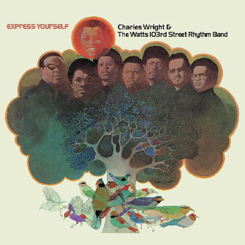 Charles Wright & The Watts 103rd Street Rhythm Band Express Yourself LP (Brown Vinyl)