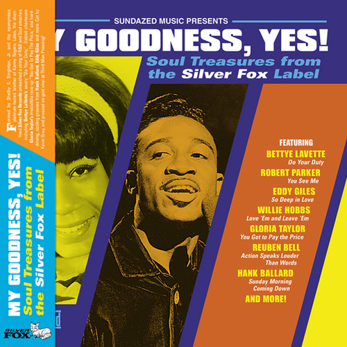 My Goodness, Yes! Soul Treasures From the Silver Fox Label LP (Gold Vinyl)