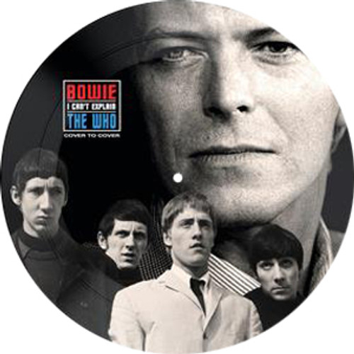 """David Bowie & The Who I Can't Explain 45rpm 7"""" Vinyl (Picture Disc)"""