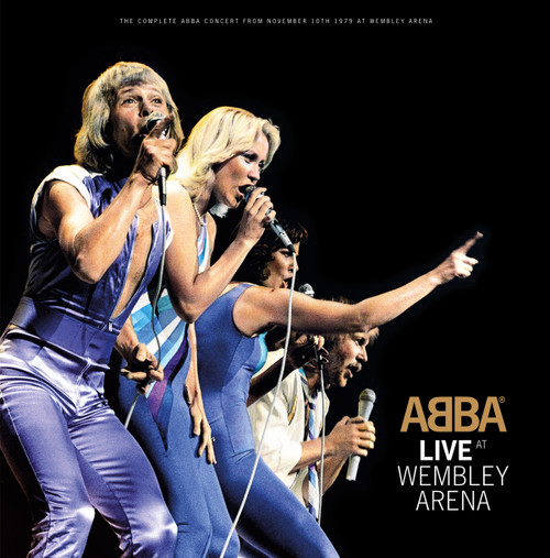 ABBA Live at Wembley Arena Half-Speed Mastered 180g 3LP
