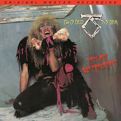 Twisted Sister Stay Hungry Numbered Limited Edition 180g LP