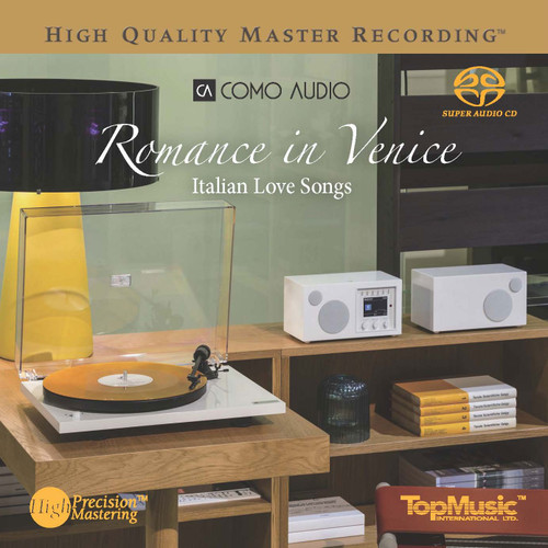Como Audio Romance In Venice: Italian Love Songs Hybrid Stereo SACD