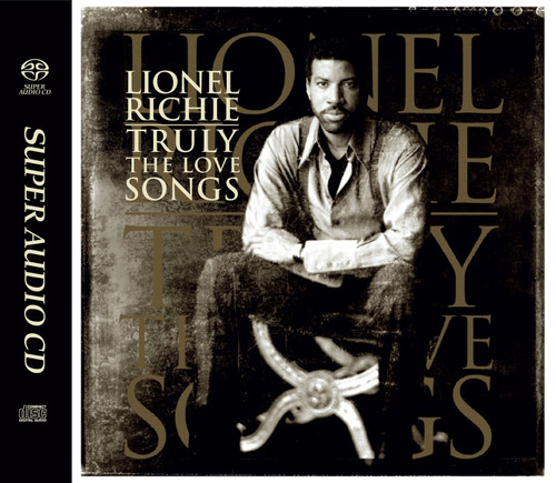 Lionel Richie Truly: The Love Songs Numbered Limited Edition Hybrid Stereo Japanese Import SACD
