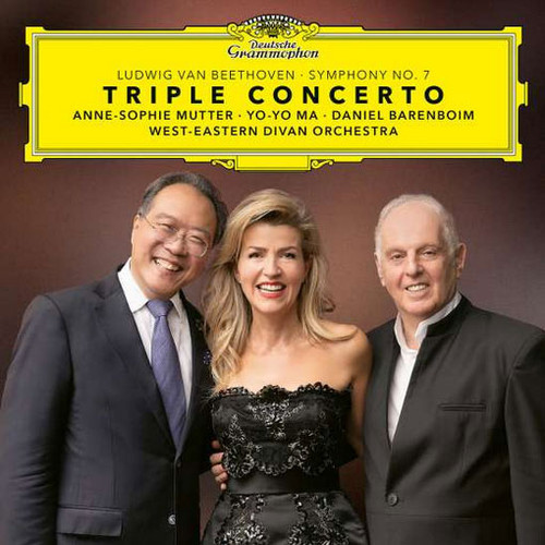 Anne-Sophie Mutter & Yo-Yo Ma Beethoven Triple Concerto, Symphony No. 7 2LP