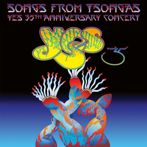 Yes Songs From Tsongas - 35th Anniversary Concert 4LP (Color Vinyl)