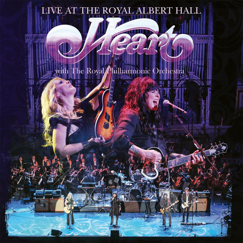 Heart Live At the Royal Albert Hall Hand-Numbered Limited Edition 180g 2LP (Pink Vinyl)