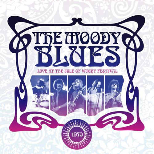 The Moody Blues Live at The Isle of Wight Festival 1970 Hand-Numbered Limited Edition 180g 2LP (Violet Vinyl)
