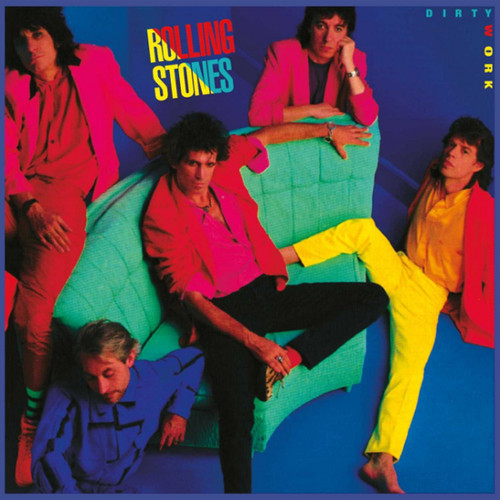The Rolling Stones Dirty Work Half-Speed Mastered 180g LP