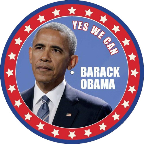 Barack Obama Yes We Can LP (Picture Disc)