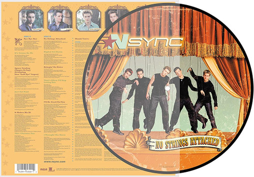 'NSync No Strings Attached LP (Picture Disc)
