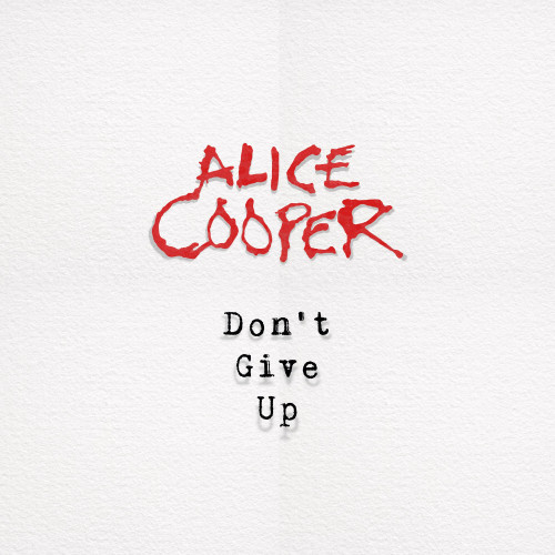 """Alice Cooper Don't Give Up 7"""" Vinyl (Picture Disc)"""