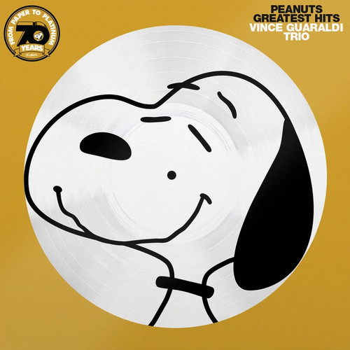 The Vince Guaraldi Trio Peanuts Greatest Hits 70th Anniversary Numbered Limited Edition LP (Picture Disc)