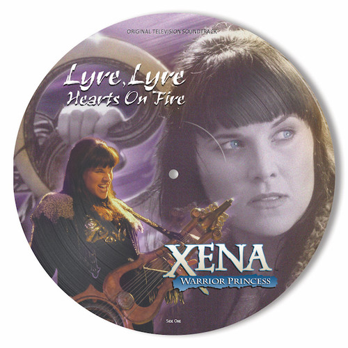Xena: Warrior Princess - Lyre, Lyre Hearts On Fire LP (Picture Disc)