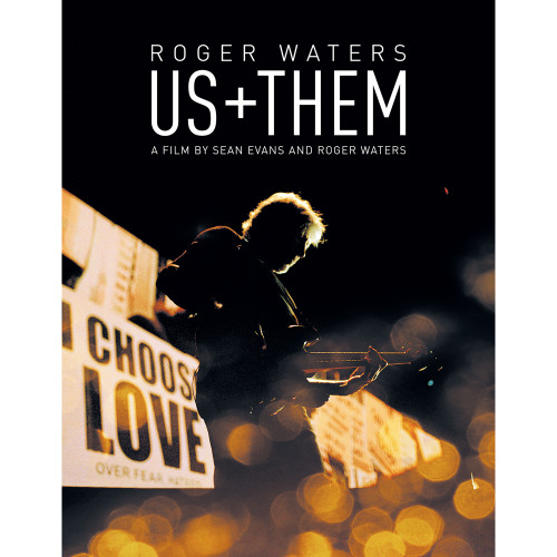 Roger Waters Us + Them Blu-Ray Video Disc