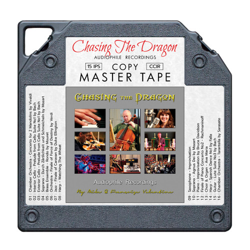 Chasing The Dragon Audiophile Recordings Master Quality Reel To Reel Tape