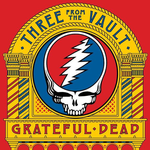 The Grateful Dead Three From The Vault 4LP