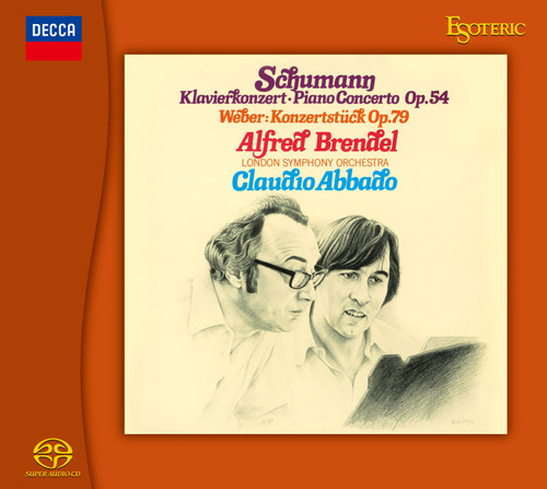 Schumann & Grieg Piano Concerto in A Minor Op. 54 & 16 Hybrid Stereo Japanese Import SACD