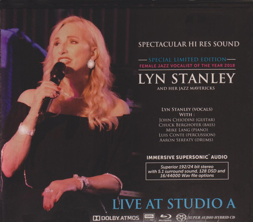 Lyn Stanley Live At Studio A Numbered Limited Edition 2Blu-Ray Disc & 1 SACD