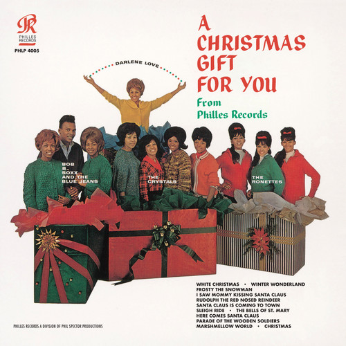 Phil Spector A Christmas Gift For You LP (Mono)