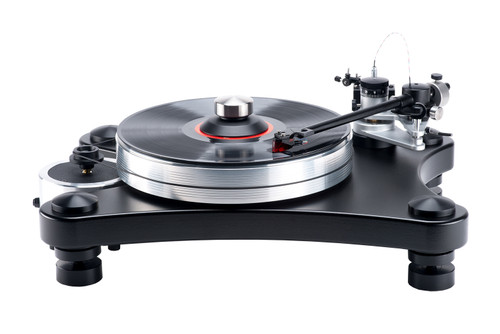 VPI Prime Turntable (Black) with JMW-10-3D-Reference Wire Tonearm & Periphery Ring