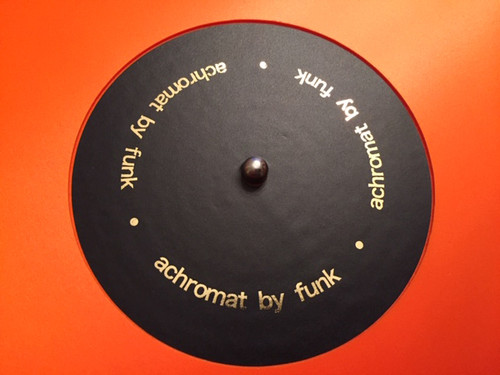 Funk Firm Achromat 1200 Turntable Platter Record Mat (Demo, Undercut, Black)