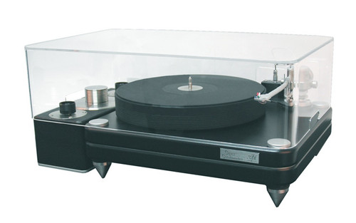 Gingko Audio VPI Super Scoutmaster Turntable Clear Plinth Top ClaraVu Dust Cover (Demo)