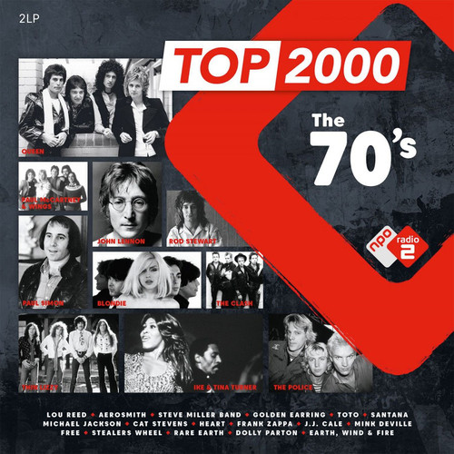 Top 2000 - The 70's Numbered Limited Edition 180g Import 2LP (Green Vinyl)
