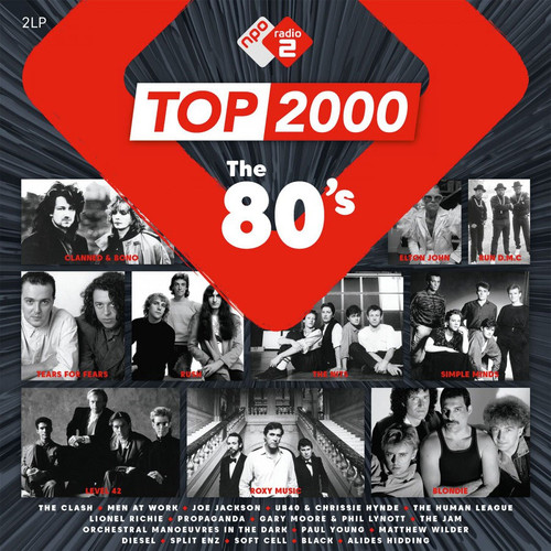 Top 2000 - The 80's Numbered Limited Edition 180g Import 2LP (Pink Vinyl)