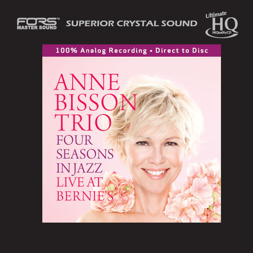 The Anne Bisson Trio Four Seasons In Jazz Live At Bernie's Numbered Japanese Import UHQCD