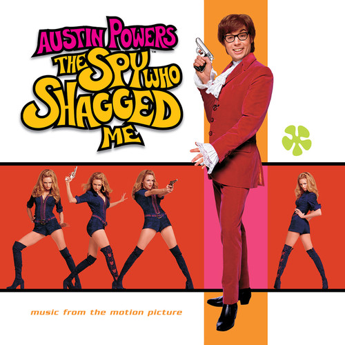 Austin Powers: The Spy Who Shagged Me Soundtrack (Music From The Motion Picture) LP (Transparent Tan Vinyl)