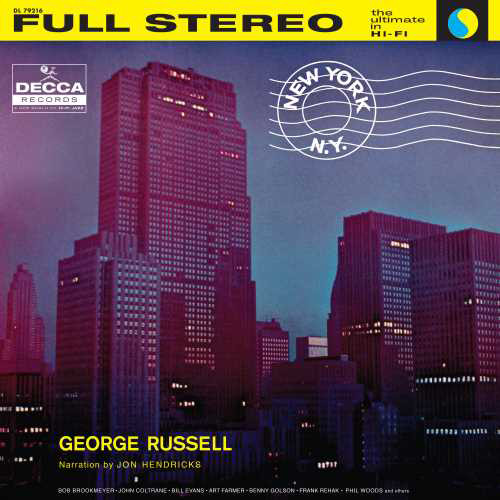 George Russell New York, N.Y. (Verve Acoustic Sounds Series) 180g LP