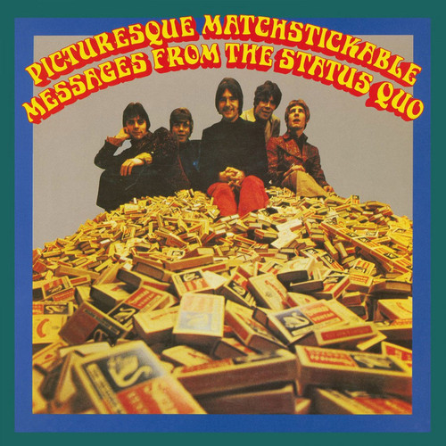 Status Quo Picturesque Matchstickable Messages From The Status Quo 180g Import LP