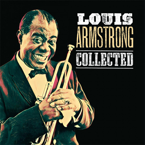 Louis Armstrong Collected Numbered Limited Edition 180g Import 2LP (Green Vinyl)