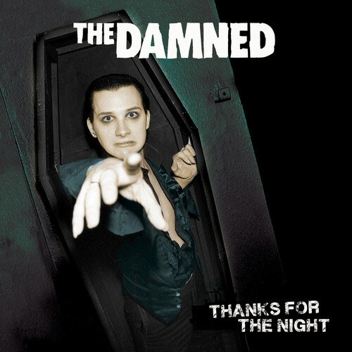 """The Damned Thanks For The Night 45rpm 7"""" Vinyl Single (Color Vinyl)"""