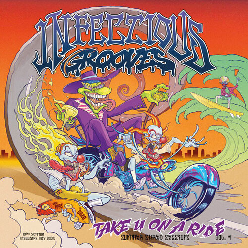 """Infectious Grooves Take You On A Ride 45rpm 12"""" Vinyl EP"""