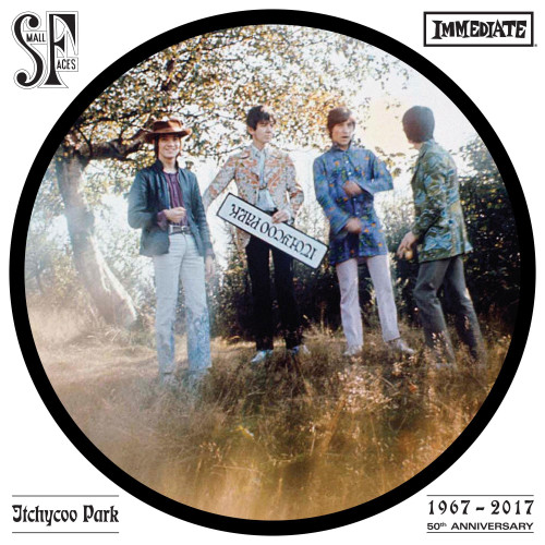 """Small Faces Itchycoo Park 10"""" Vinyl Single (Stereo & Mono) (Picture Disc)"""