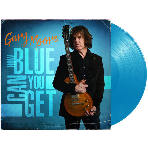 Gary Moore How Blue Can You Get 180g LP (Blue Vinyl)