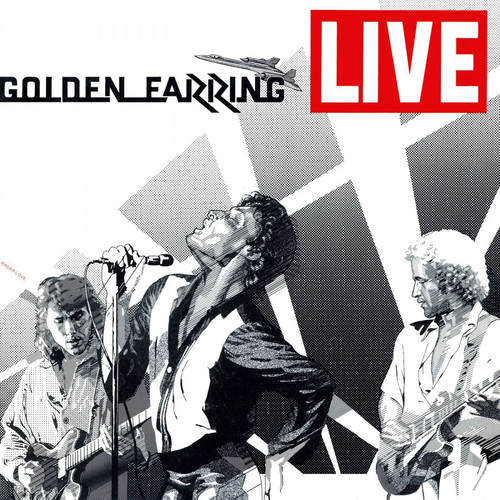 Golden Earring Live Numbered Limited Edition 180g Import 2LP (White Vinyl)
