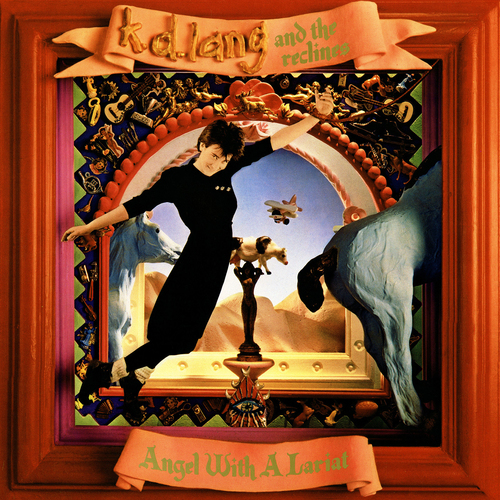 k.d. lang and the reclines Angel With A Lariat LP (Translucent Red Vinyl)