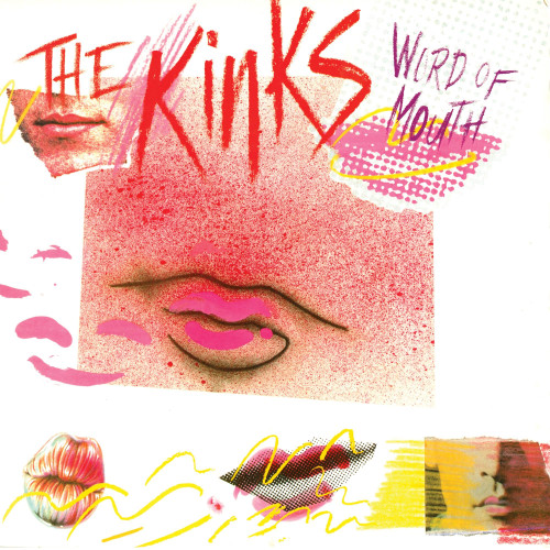 The Kinks Word Of Mouth 180g LP (Pink & White Swirl Vinyl)
