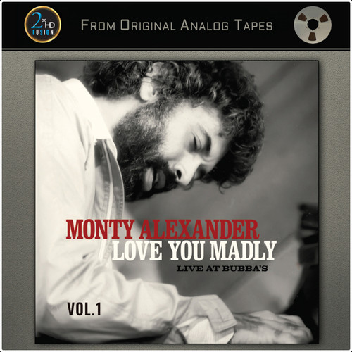 Monty Alexander Love You Madly - Live At Bubba's Vol. 1 Master Quality Reel To Reel Tape