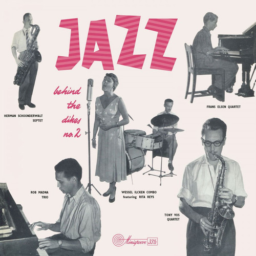 Jazz Behind The Dikes Vol. 2 Numbered Limited Edition 180g Import LP (White Vinyl)