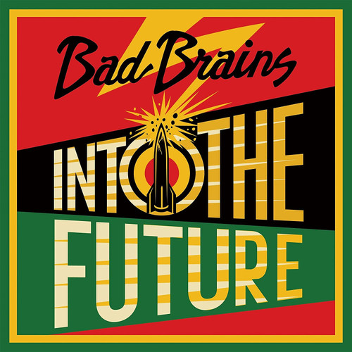 Bad Brains Into The Future LP (Red, Yellow & Green Vinyl)
