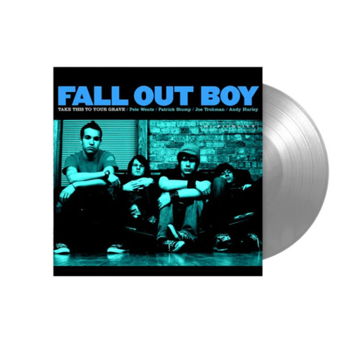 Fall Out Boy Take This To Your Grave LP (Silver Vinyl)