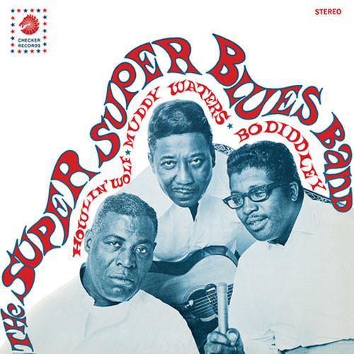 Howlin' Wolf, Muddy Waters & Bo Diddley The Super Super Blues Band LP (Color Vinyl)