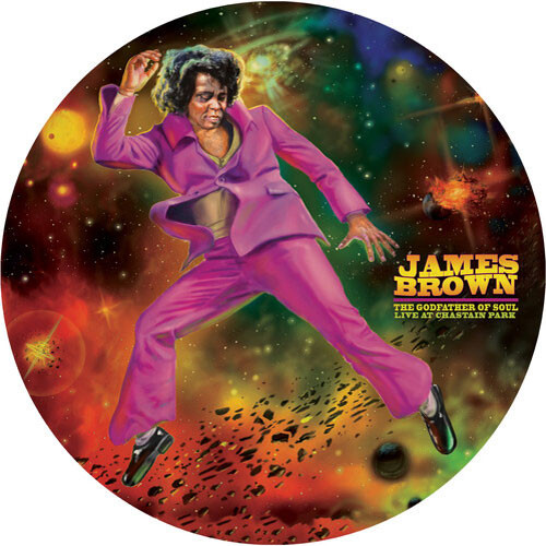 James Brown The Godfather Of Soul: Live At Chastain Park LP (Picture Disc)