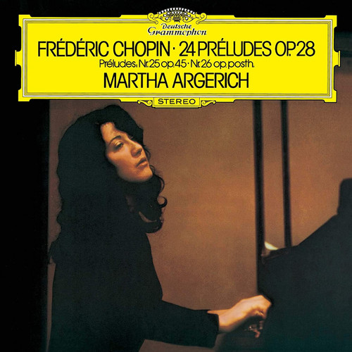 Martha Argerich Chopin: Preludes Single-Layer Stereo Japanese Import SHM-SACD