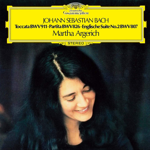 Martha Argerich Bach: Toccata, Partita & Englische Suite No. 2 Single-Layer Stereo Japanese Import SHM-SACD